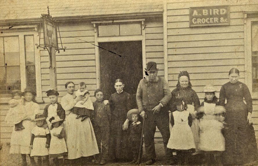 Abraham Bird and Family