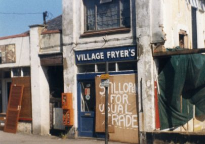 Demolishing Village Shops