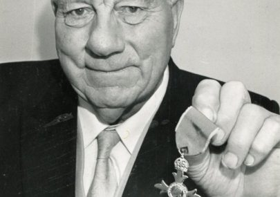Bernard Griffith MBE