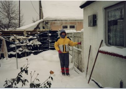 Canvey Snow in 1987