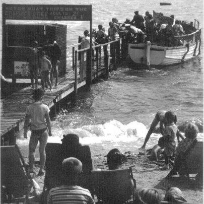 Shell Beach jetty ,'' ALL ABOARD'' the Summer Rose. | A.Fitzpatrick/K.Harding