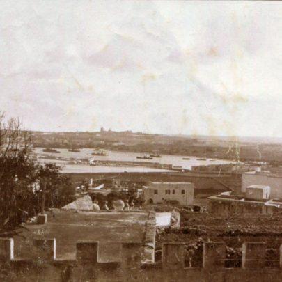 View of Hamrun from the balcony of the Villa Portelli.