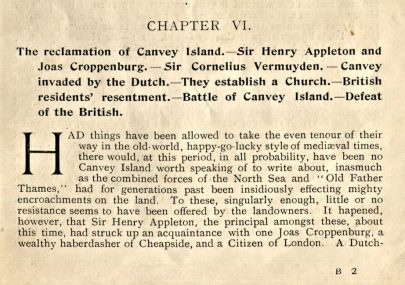 06 - History Of Canvey Island 1901