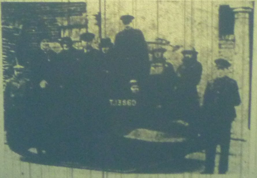 After declaring Canvey Warship Week open on Saturday, Flight-lieut. Victor Rakes MP and Mrs Raikes, together with Mr E Rayment (Chairman of Canvey Island Urban Council) and Mrs Rayment, drove off in a Bren gun carrier to the offices of the Gas Light and Coke Company, where they purchased Savings Certificates.