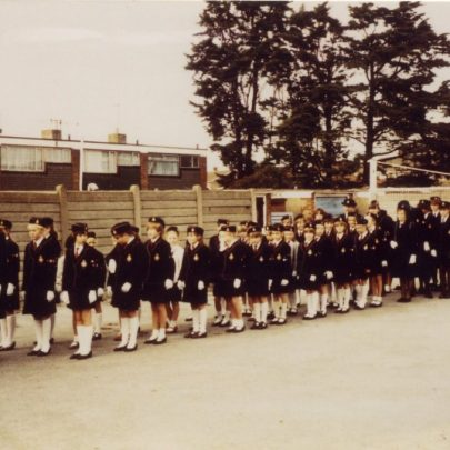 Girls Brigade Parade. c1980's | D Flaherty