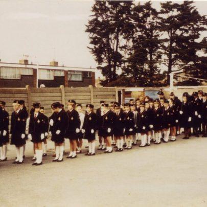 Girls Brigade Parade. c1980's   D Flaherty