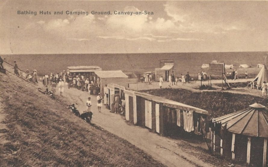 Bathing Huts and Camping Ground