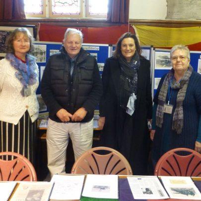 Janet Walden (CCA), Dave Thorndike (HC), Rebecca Harris MP and Janet Penn (CCA) | Janet Penn