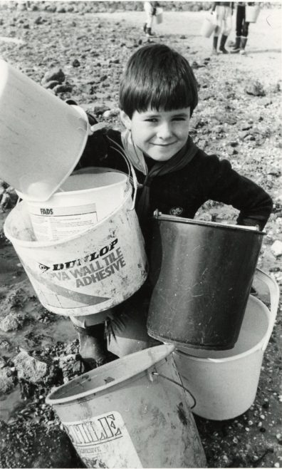 Beach Cleaning | Echo Newspaper Archive