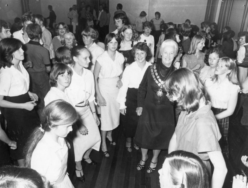 Disco for 'Twinned' Town | Echo Newspaper Archive