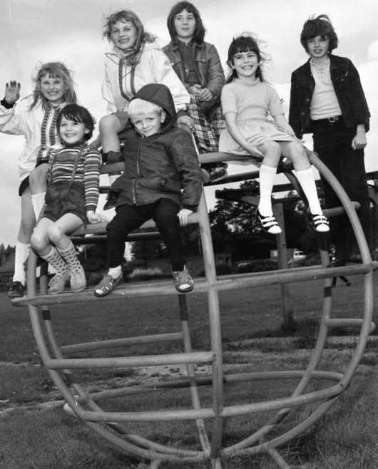 Refugees at the Paddocks Playground | Echo Newspaper Archive