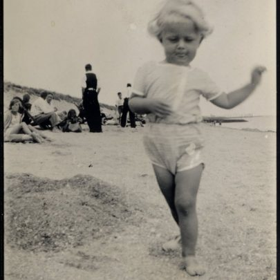 Canvey Beach scenes in the 1930s