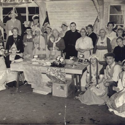 Dutch fete at the old village hall