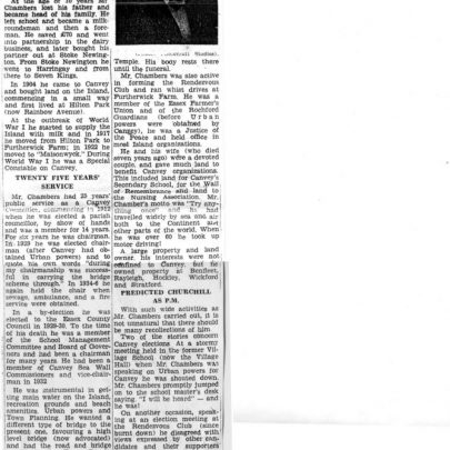 Copy of the original Newspaper Cutting. Click on the picture to see full size