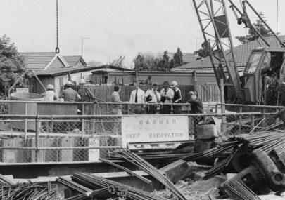 Crane Tragedy at Chamberlain St