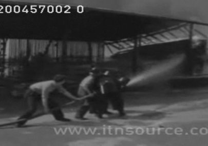 1957 Fire at Canvey Island Supply Co