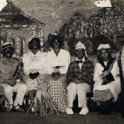 Whittier Hall Concert Party c1953. Gwen & Cyril Hewitt, Alf & Doris Flaherty, Mr & Mrs Mason | Doris Flaherty