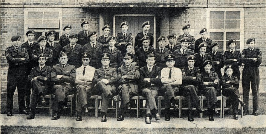 Canvey Cadets at VEE Base. Click on picture to see enlargement | Canvey News and Benfleet Recorder
