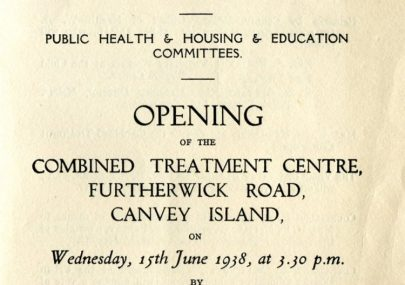 Opening of Treatment Centre