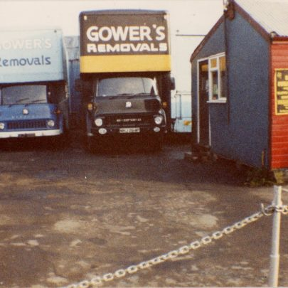 Benfleet Yard. View from main drive in entrance | Bill Gower