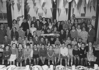 Bus Garage Christmas Party 1953-54