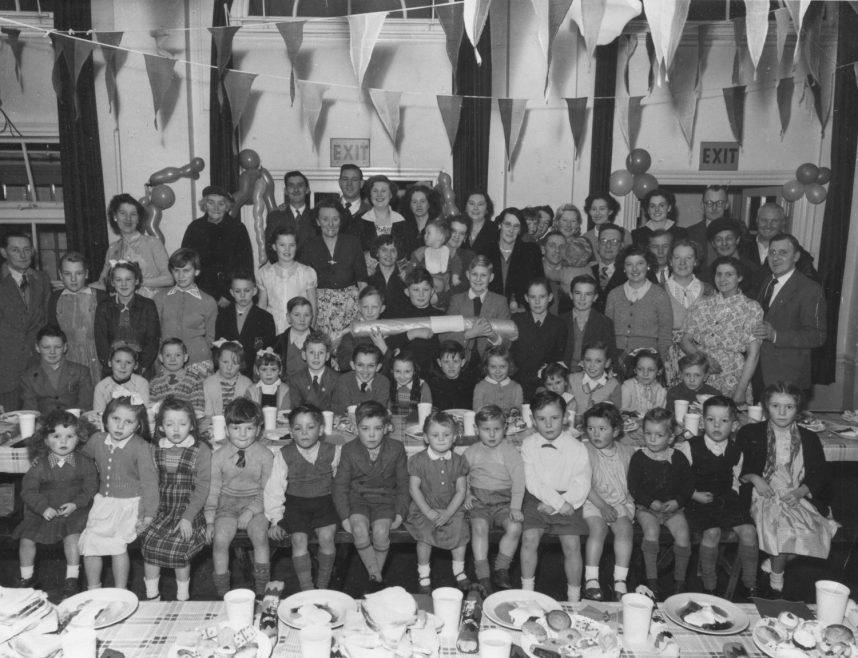 Bill is sitting in the second row far right | Bill Blissett