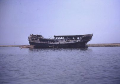 Wreck off Canvey Creek