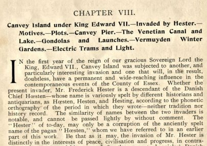 08 - History of Canvey Island 1901