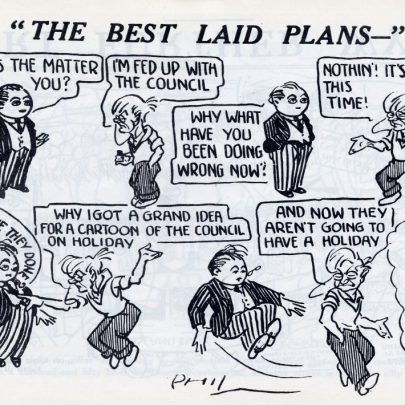 Canvey Chronical Cartoons 1933