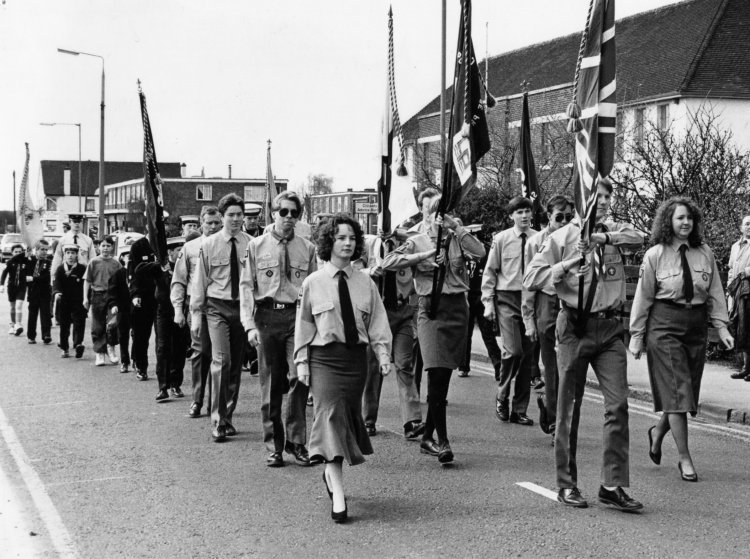 Parade at the Council Offices | Echo newspaper group and the Rayleigh Town Museum