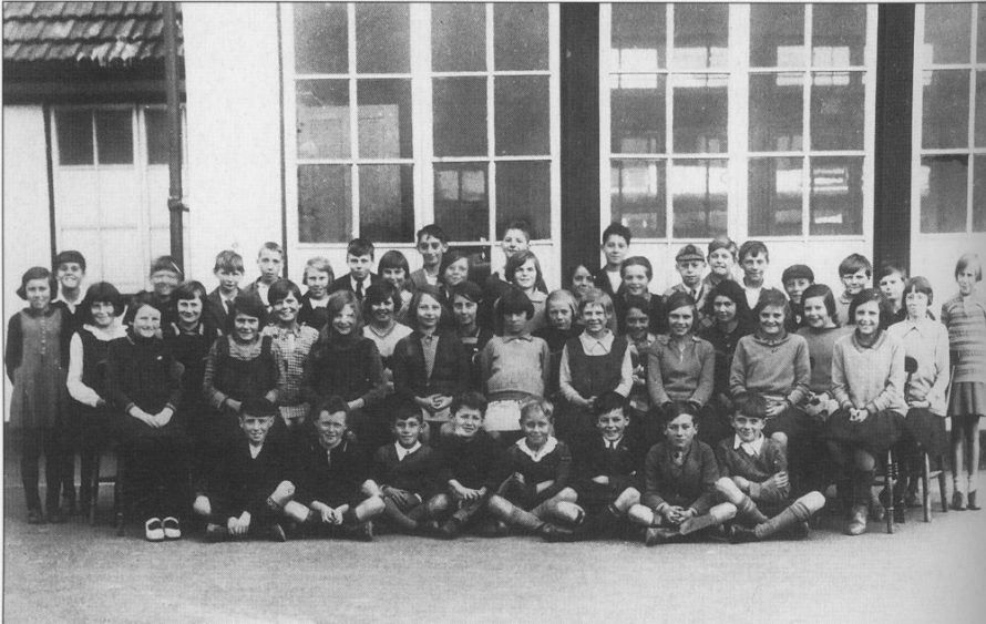 William Read School class photo
