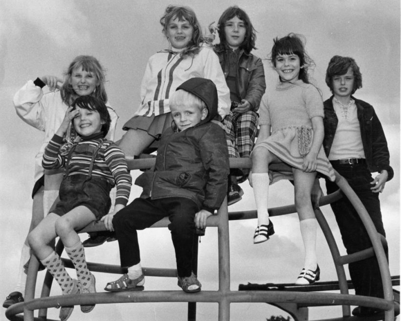 Refugees at the Paddocks Playground   Echo Newspaper Archive
