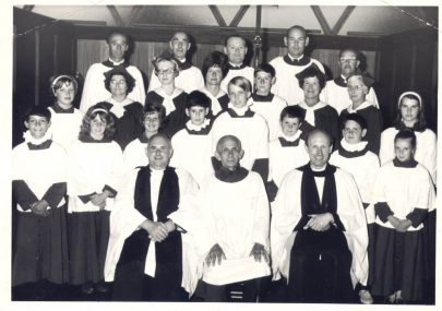 St Katherine's Church choir and wardens