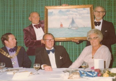 41st annual dinner and dance of the Island Yacht club