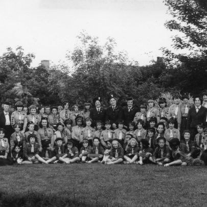 Canvey Guides and Brownies taken in the Convent Grounds. Date unknown | Phyllis Owens