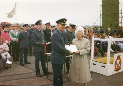 RAF Debden 1993