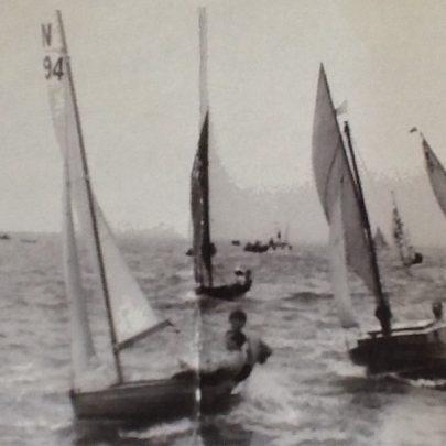 Racing off Canvey Island 1950's | Jane Parkin