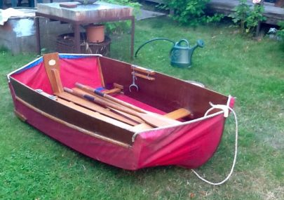 Prout and sons folding dinghy