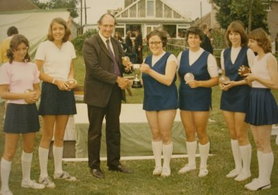 Canvey Netball Team 1973