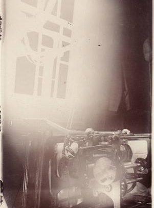 Postcard dated c1909-1910 showing the fog signal clock in the Chapman Lighthouse | Jon Swinn