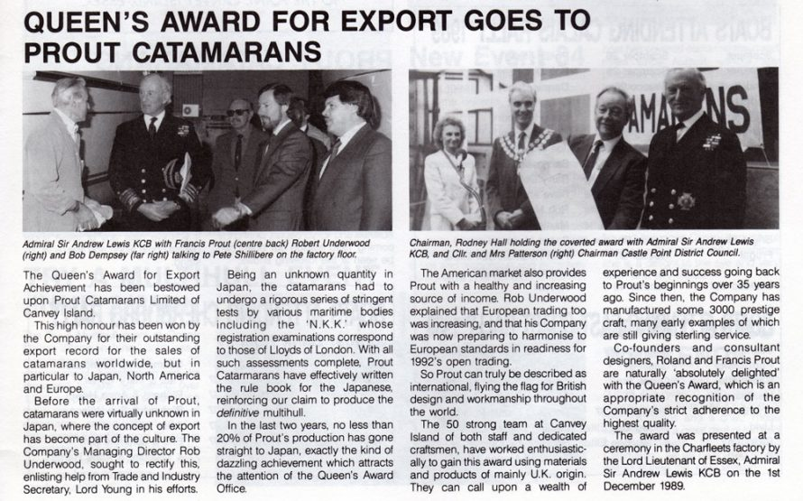 Award For Export.