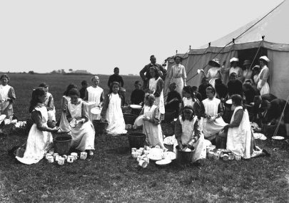 Islington School Children On Canvey Island
