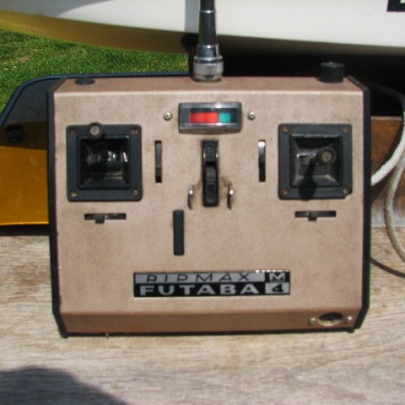 The old 27mhz AM transmitter