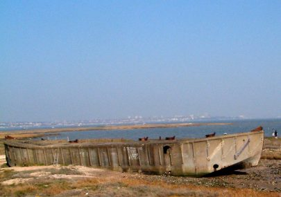 New Photo of Concrete Barge