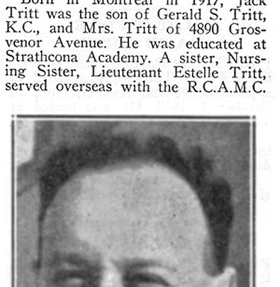 Jack Tritt obituary
