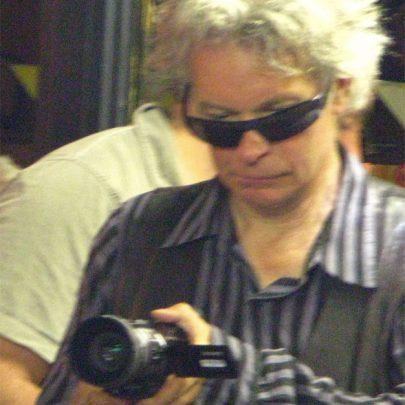 Julian Temple filming in the Canvey Club   (c) David Bullock