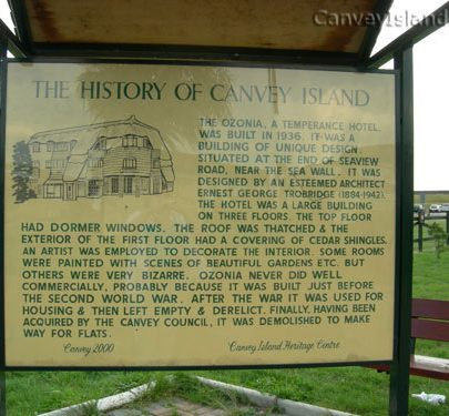 Canvey 2000 Plaque | Janet Penn