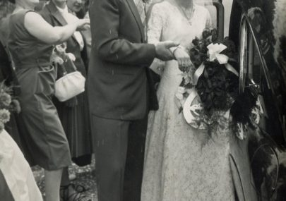 Dave and Jessica Thorndike's Wedding 1959