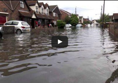Canvey Island Floods 2014