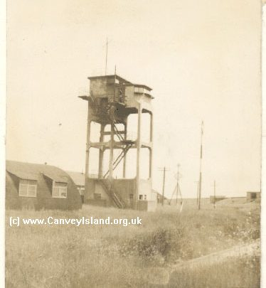 Thorney Bay Army Camp including the Tower which Peter Winacott took his two photographs featured | John Windell